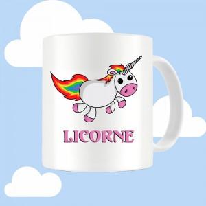 Mug 6 raisons d'être une Licorne