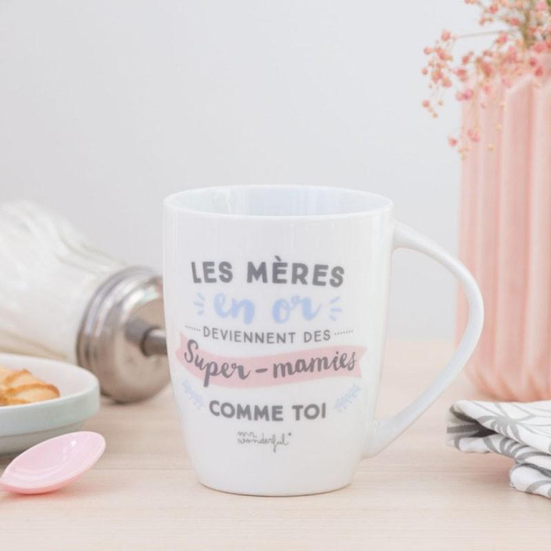 Super Mug Les Mères Mamies Or En Comme Des Toi Deviennent Y6f7ygvb