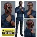 Figurine Gus Fring Brulé Breaking Bad