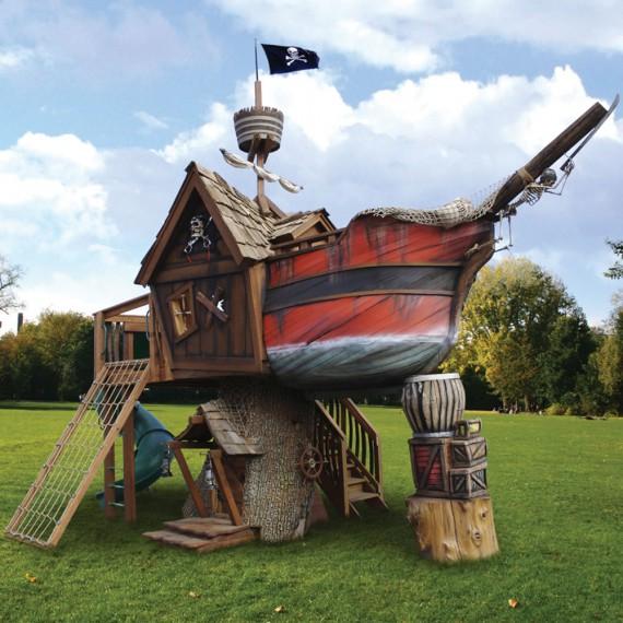 Jeux pour enfant bateau pirate