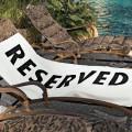 Serviette de plage - Reserved