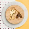 Porte-clefs Emoji Caca