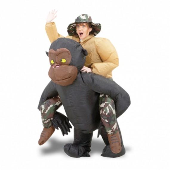 Costume gonflable homme sur Gorille