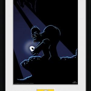 Cadre Simpson Homer Gollum