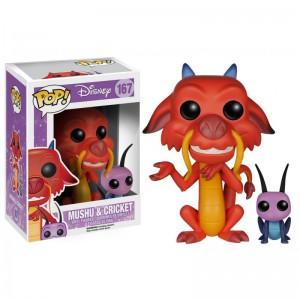 Figurine Pop Mushu et Cricket Mulan Disney