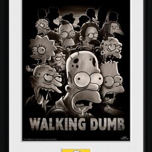 Cadre Simpsons The Walking Dumb