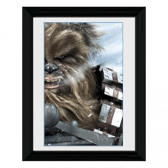 Cadre Chewbacca Winter Star Wars