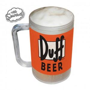Chope réfrigérée Simpsons Duff Beer