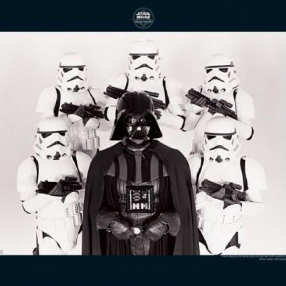Poster Dark Vador Family Star Wars