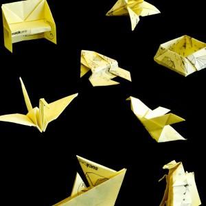 Bloc Notes autocollantes Origami