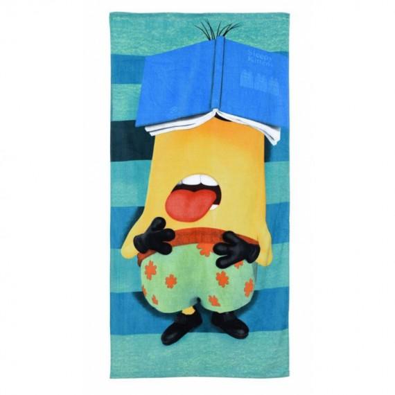 Serviette de plage Sleepy Minion