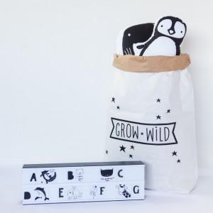 Set de lettres & animaux Lightbox