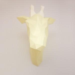 Sculpture en papier DIY - Vero la Girafe