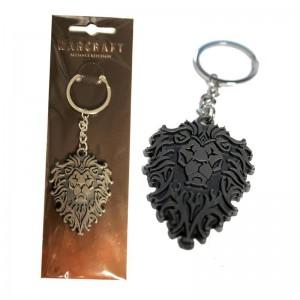 Porte-clefs métal Alliance Warcraft
