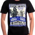 T-shirt homme Rock Wars Versus Star Wars