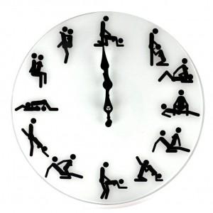Horloge murale Kamasutra