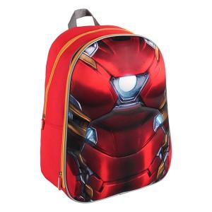 Sac à dos scolaire 3D - Iron Man