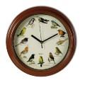 Horloge avec chants d'oiseaux