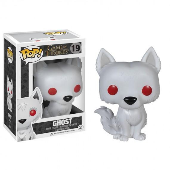 Figurine Pop! Game of Thrones Ghost Wirewolf 10 cm