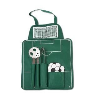 Coffret d'accessoires pour barbecue pour les fans de foot