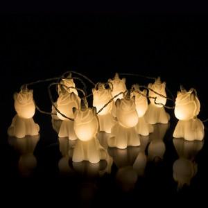 Guirlande licornes lumineuses