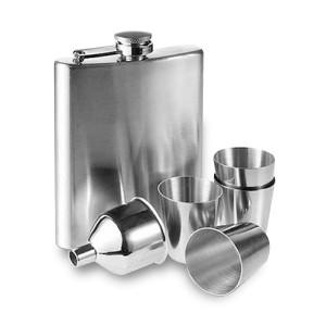 Coffret flasque inox et accessoires