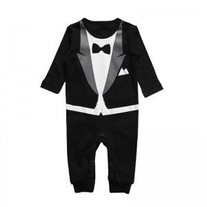 Pyjama pour enfant imitation smoking gentleman