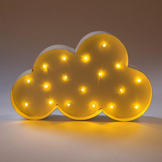 Lampe murale nuage LED