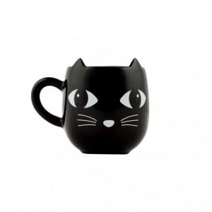 Mug chat noir avec oreilles