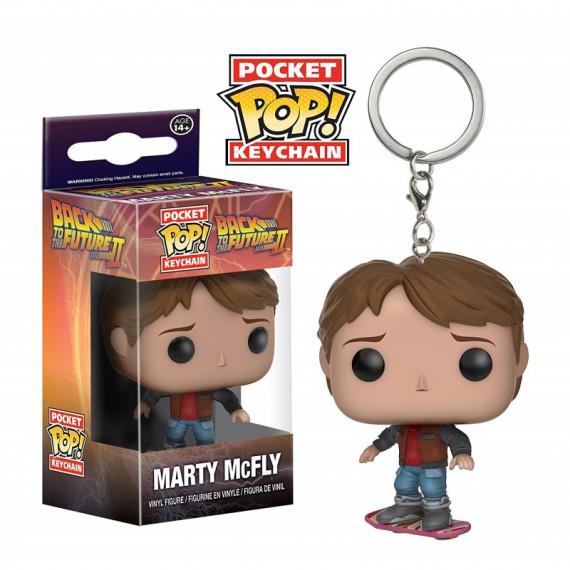 Porte clés Pocket POP Retour Vers le Futur 2 Marty McFly