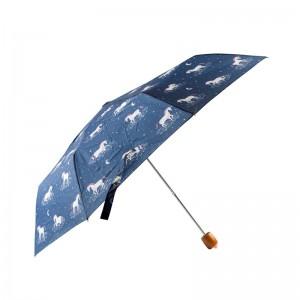 Parapluie licornes et étoiles