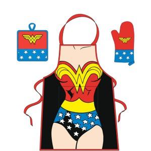 Set de cuisine Wonder Woman DC Comics