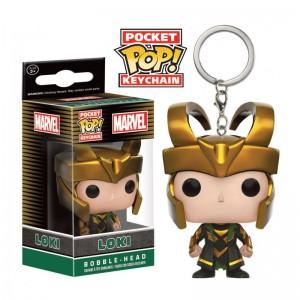 Porte Clés Funko POP Marvel Loki