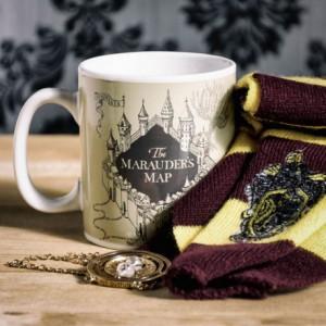 Mug Thermoréactif Harry Potter Carte du Maraudeur