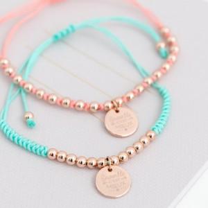 Bracelets pour être toujours ensemble