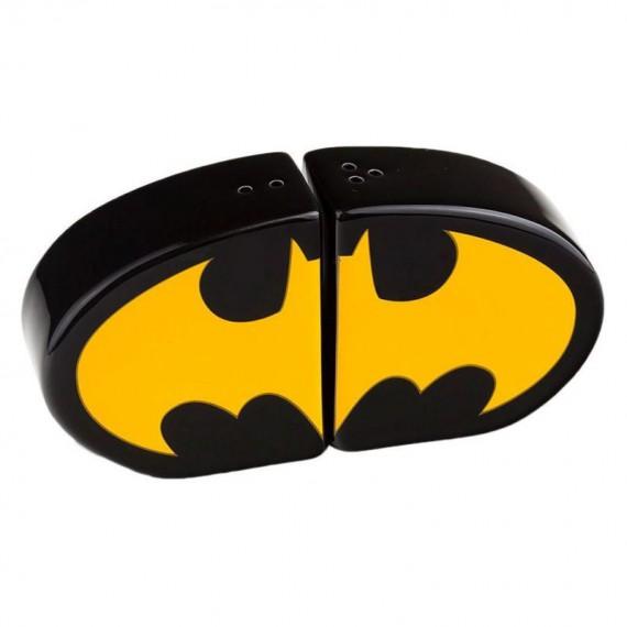 Salière et Poivrière Batman Logo