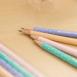 Pack de 4 crayons avec de super messages