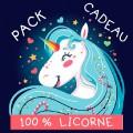 Pack cadeau - 100% licorne