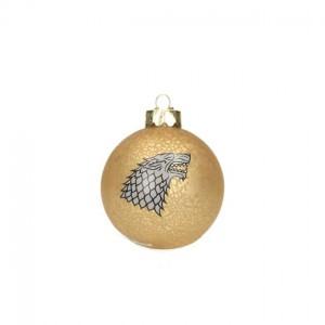 Boule de Noël Game Of Thrones Logo Famille Stark