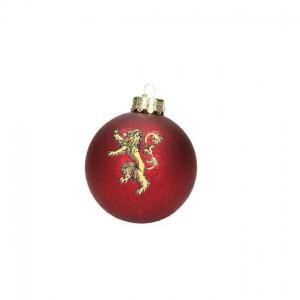 Boule de Noël Game Of Thrones Logo Famille Lannister