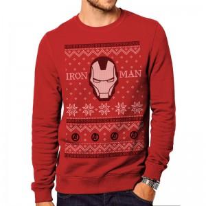 Pull Iron Man de Noël