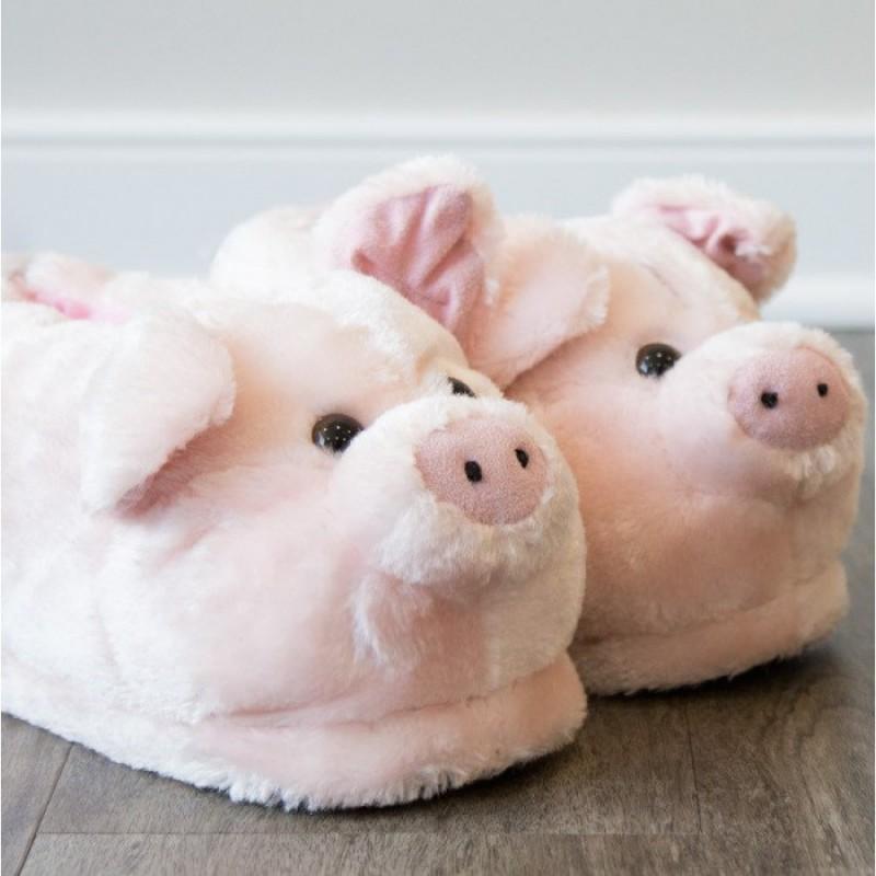 revendeur 7a419 8c0a2 Chaussons animaux Cochon   Commentseruiner