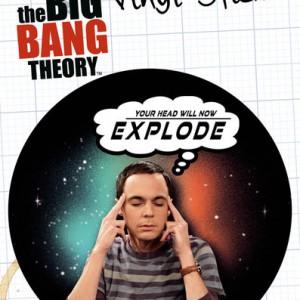 Sticker The Big Bang Theory Sheldon