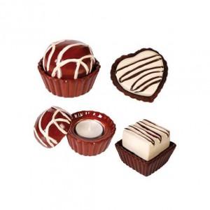 Bougie chocolat
