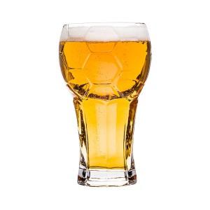 Chope à bière en forme de ballon de foot