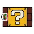 Paillasson Super Mario Bros Question Mark Block