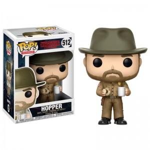 Figurine POP Stranger Things Hopper with Donut