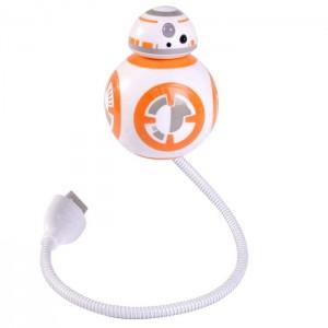 Lampe flexible USB Star Wars BB-8
