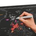 La Carte du Monde à Gratter à personnaliser