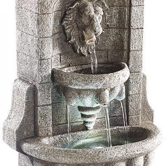 Fontaine d'intérieur sculpture lion